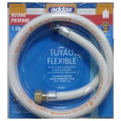 FLEXIBLE GAZ BUTANE 10ANS 1.50M NF36-112