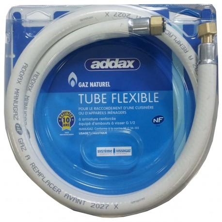 FLEXIBLE GAZ NATUREL 10ANS 1.50M NF 36103