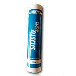 CARTOUCHE SILICONE BLANC ACRYLIQUE 310 ml