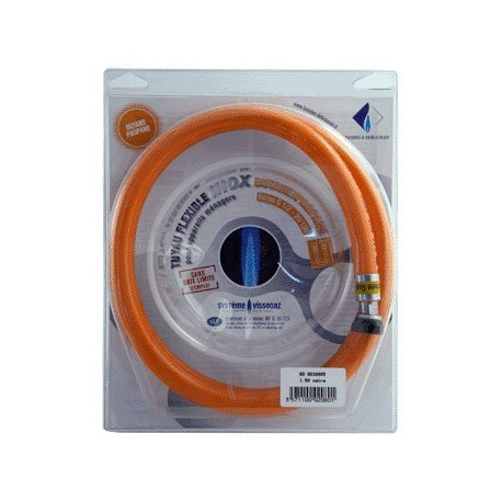 FLEXIBLE GAZ BUTANE ILLIMITE 1.50M NF36125