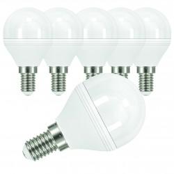 AMPOULE LED E14 3K RONDE 6 WATTS