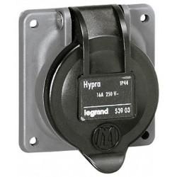 PRISE HYPRA IP44 2P+T 16A LEG/53903